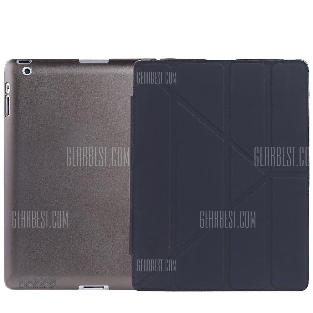 Ultra Slim de cuero pu cubierta de suspension inteligente para iPad 2 / 3 / 4