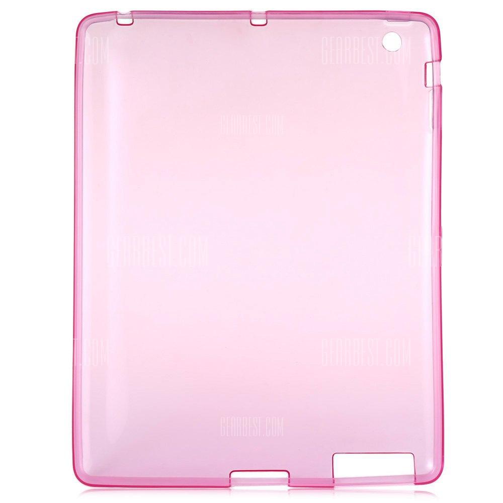 Ultra Slim TPU Cubierta posterior para el iPad 2 / 3 / 4