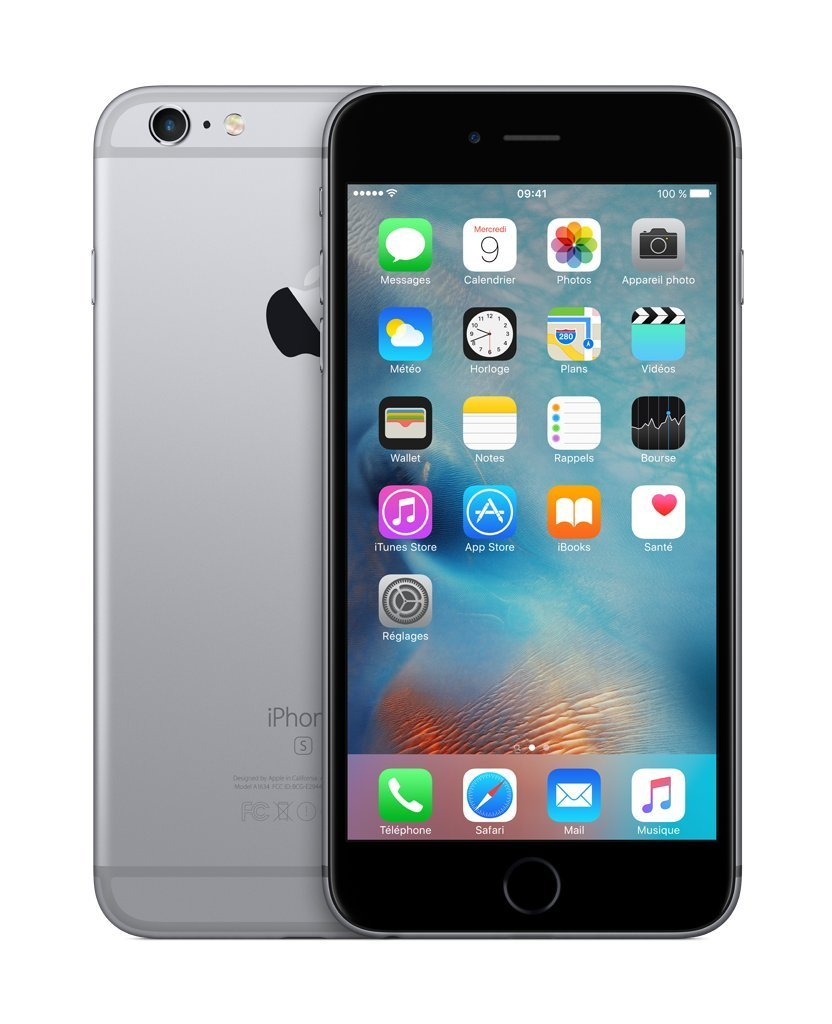 Apple iPhone 6s Plus 64GB 4G Gris - Smartphone Libre