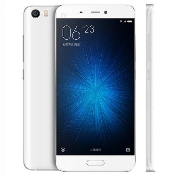 Xiaomi MI5 International Edition 5.15 pulgadas 3D de cristal MIUI 7 4G Smartphone Snapdragon 820 Quad de 64 bits Tipo C-Core a 1,8 GHz camara de huell