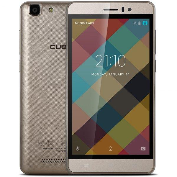 Cubot Rainbow Android 6.0 Sensor de la gravedad 5.0 pulgadas pantalla HD 3G Smartphone MTK6580 Quad core 1,3 GHz 1GB RAM 16GB ROM
