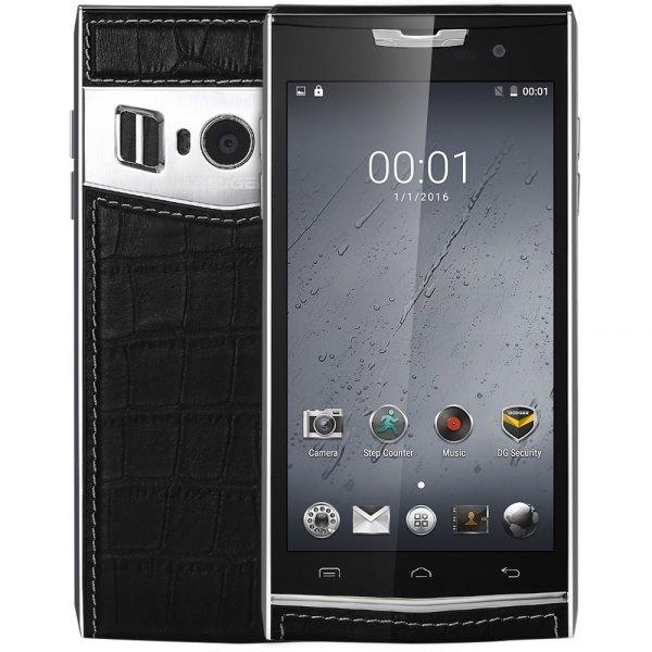 Doogee T3 Android 6.0 Smartphone 4G 4.7 pulgadas de doble pantalla de 13 MP de 64 bits + 5MP Camaras MTK6753 Octa Core 3 GB de RAM 32 GB ROM OTG OTA H