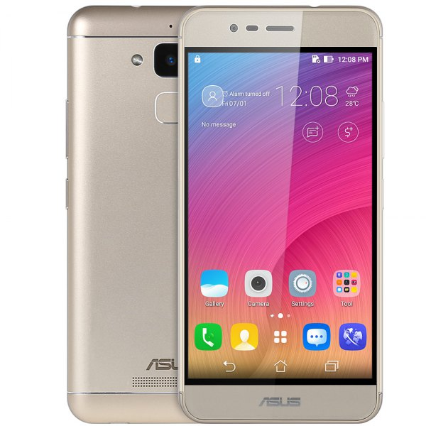 ASUS Zenfone Pegasus 3 X008 Android 6.0 2.5D Arco de la pantalla 5.2 pulgadas sensor de proximidad del escaner Smartphone MTK6737 de cuatro nucleos a
