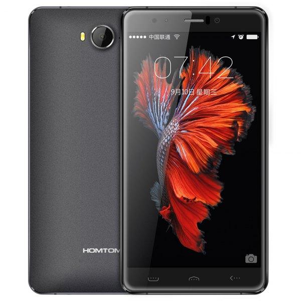 HOMTOM HT10 Android 6.0 4G phablet de 5,5 pulgadas de pantalla MTK6797 Arco (Helio X20) Deca Core 4 GB de RAM 32 GB ROM 21MP Camara principal Iris Rec