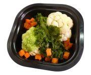 Col kale brocoli coliflor y zanahoria