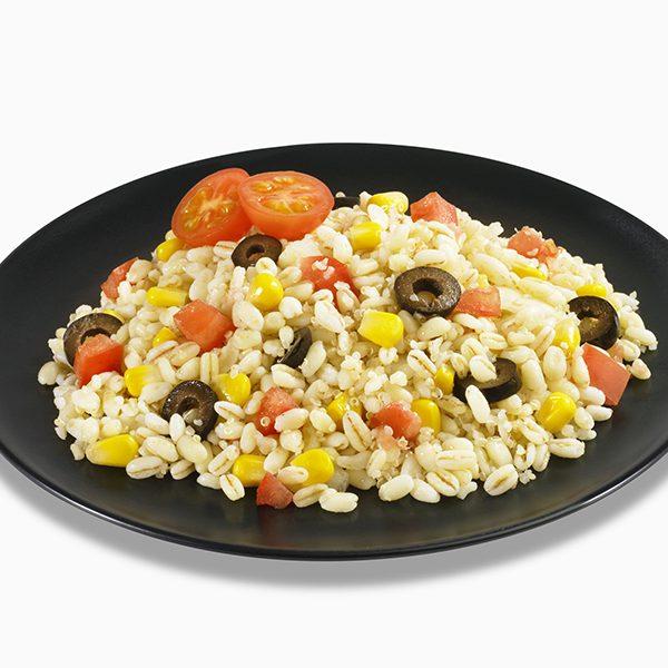Ensalada de trigo y quinoa
