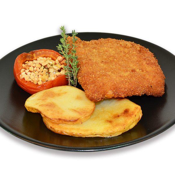 Librito de lomo con patatas