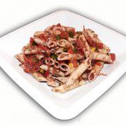 Ensalada de pasta con olivada