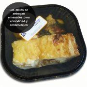 Pastel de carne con calabacin
