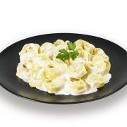 Tortellini con salsa gorgonzola