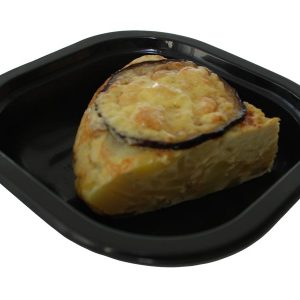 Tortilla de patatas y cebolla