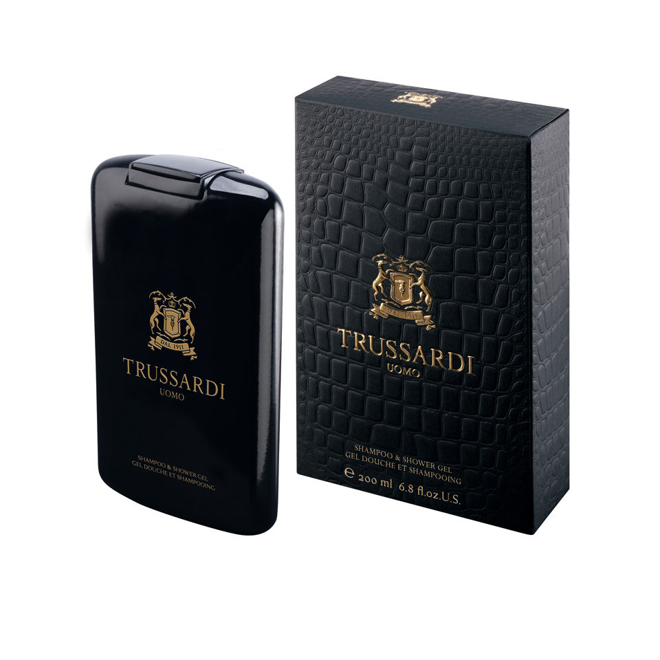 Trussardi 1911 Uomo for Men Shampoo and Shower Gel 200ml