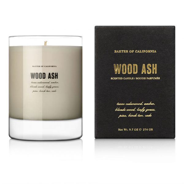 Baxter of California Wood Ash Scented Candle