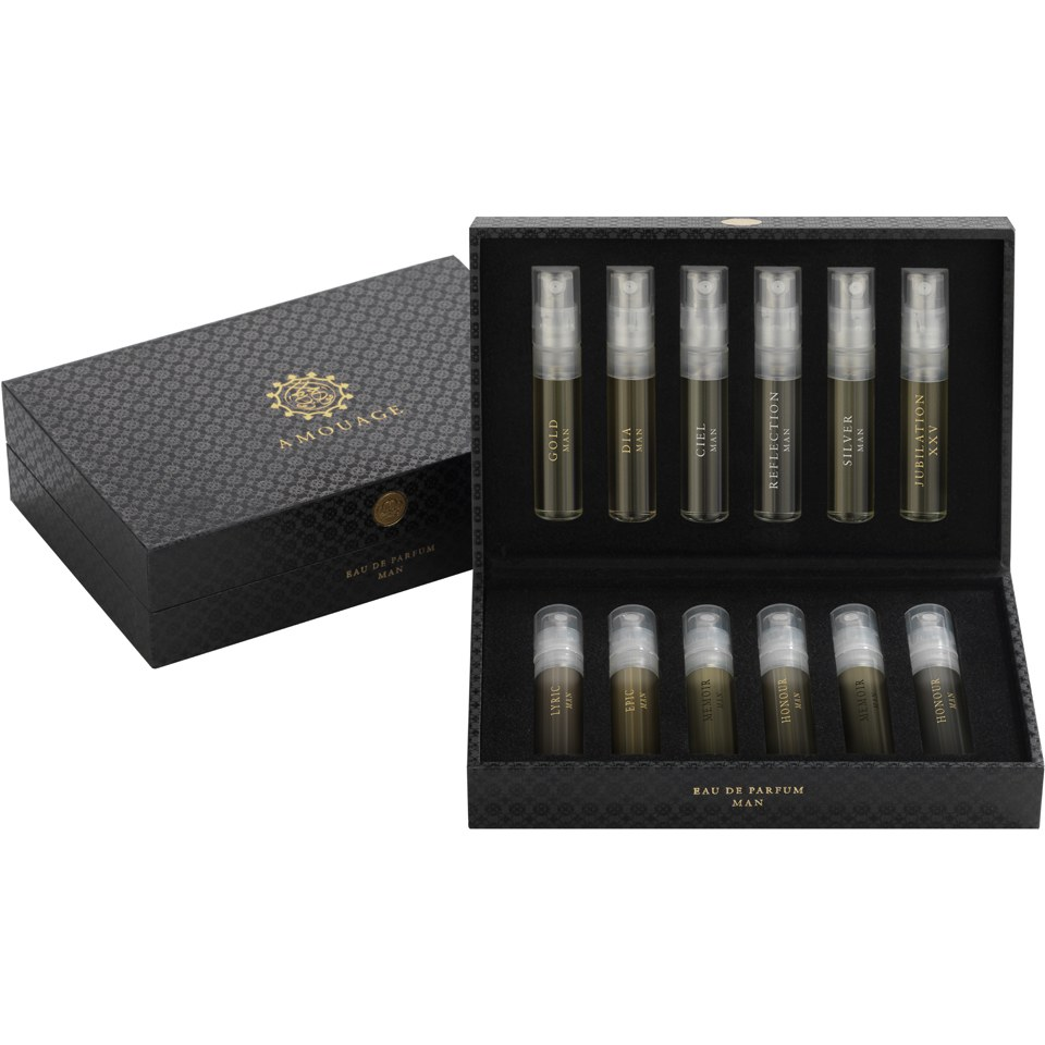 Amouage for Men Introductory Sample Set (12 x 2ml)