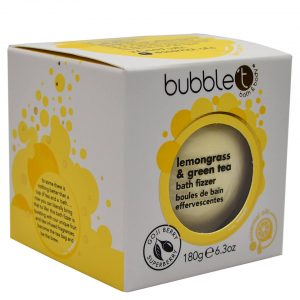 Bubble T Bath Fizzer - Lemongrass & Green Tea 180g