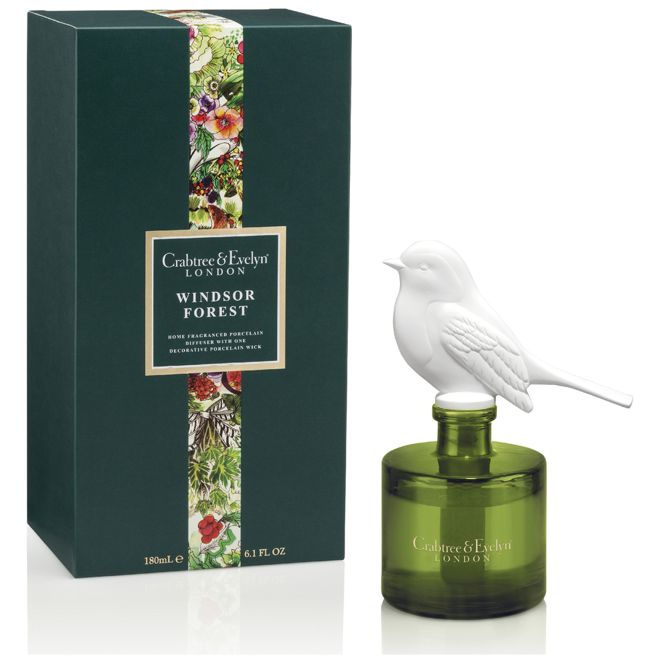 Crabtree & Evelyn Windsor Forest Porcelain Diffuser 180ml