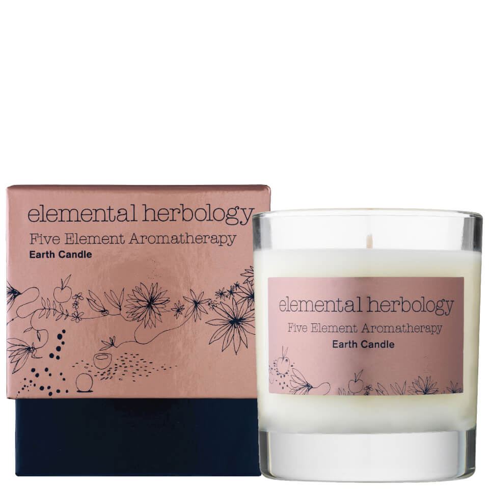 Elemental Herbology Five Element Aromatherapy Earth Candle