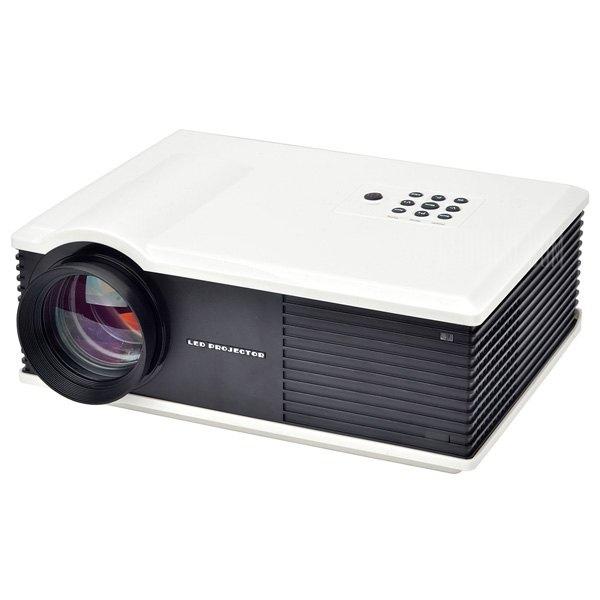 PH580S 220 Lumens 1280 x 800 pixeles HD Proyector LCD Relacion de contraste de 2000:1 con HDMI VGA AV TV Entrada USB AU Plug
