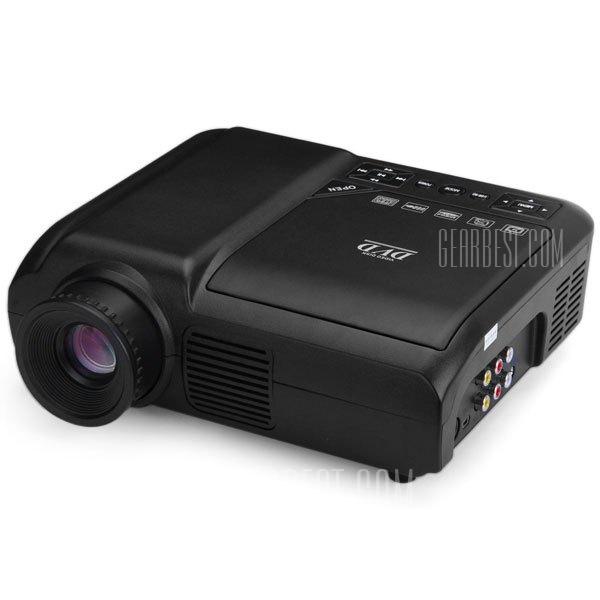EPL007 Proyector LCD portatil multimedia del Reproductor de DVD Home Theater 60 Lumenes resolucion nativa de 320 x 240