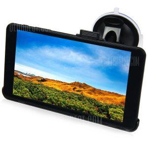 HUNYDON HY - 131 LCD TFT de 7 pulgadas de pantalla tactil Navegador GPS de coche