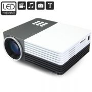 GM50 Proyector LCD Home Theater Multifuncional 80 LM 480 x 320 pixeles con Correccion Keystone para PC Portatil