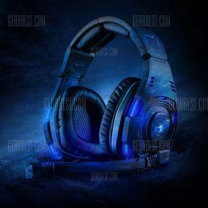 Sades SA - 907 El sonido Surround 7.1 USB Gaming auricular con mic Control de voz Luz LED para PC Portatil