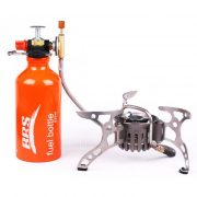 Hermano BRS-8 Portable picnic al aire libre horno de gas del deposito de aceite Kit - 530ml
