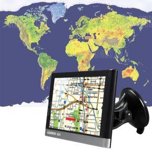 GARMIN NUVI 2567 8GB, pantalla tactil de 5 pulgadas del vehiculo automovil Bluetooth GPS Navigator con mapas gratis de por vida (en Norteamerica).