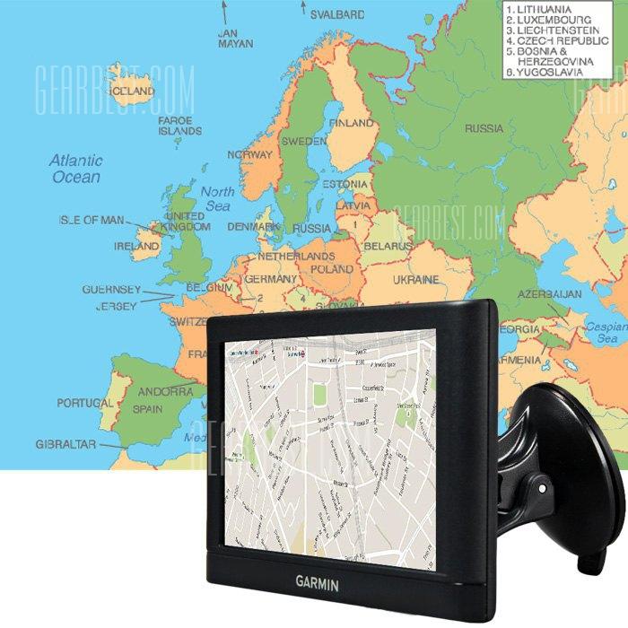 GARMIN NUVI C255 de 5 pulgadas Navegador GPS coche Vehiculo portatil de almacenamiento de 8 GB con mapas gratis de por vida (UE)