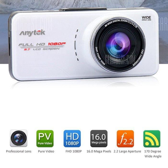En Anytek66una videocamara coche