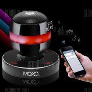 MOXO Levitante Magnetico de carga inalambrica Bluetooth Altavoz Altavoz Super Bass con Multi Color de luz