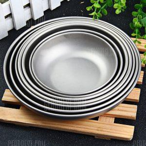 Keith 7 piezas Juego de placas de titanio para uso domestico.