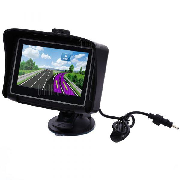 4,3 pulgadas de navegacion GPS de Coches Motocicletas