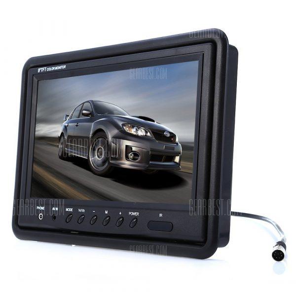9 pulgadas HD Vista Trasera Backup Monitor de camara de estacionamiento
