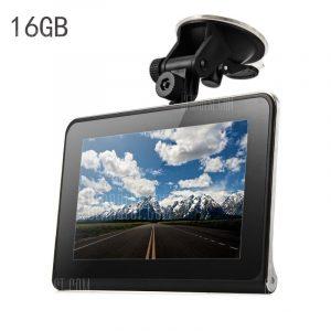 P800-16GB-AVIN 1080P 160 grados DVR camara de navegacion GPS de coche