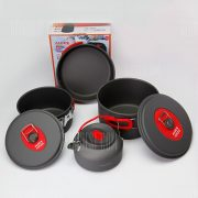 ALOCS CW-C06S utensilios de cocina establecido siete piezas mango plegable