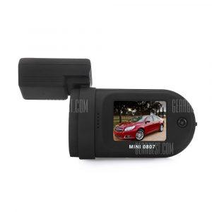 Mini 0807 1080P FHD 135 grados de angulo amplio DVR coche