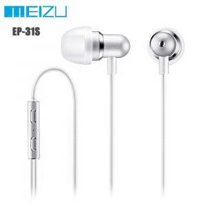 Meizu original EP-31S Music In-ear Auriculares con accionamiento por cable