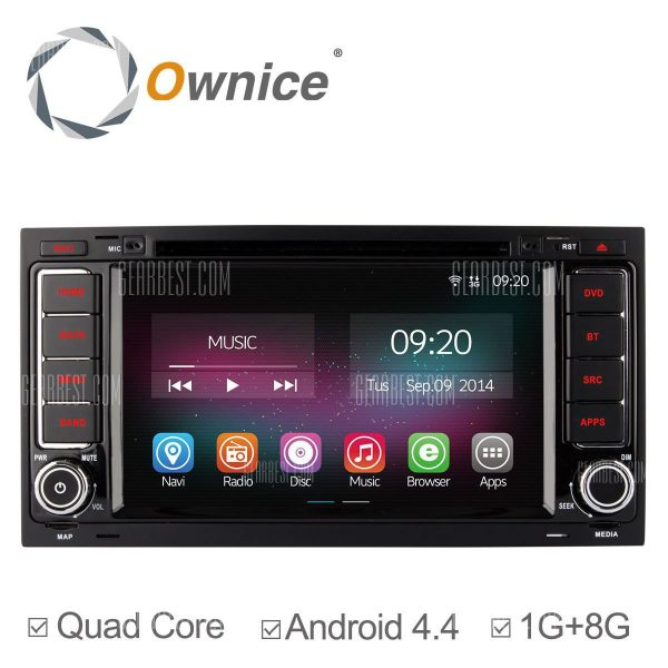 C200: Ownice OL - 7903un Android 4.4.2 7.0 coche DVD GPS Reproductor multimedia