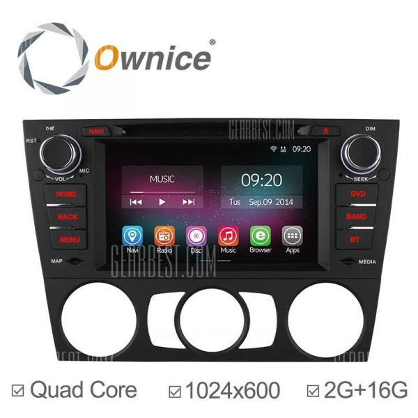 C200: Ownice OL - 7958B Android 4.4.2 7.0 coche DVD GPS Reproductor multimedia