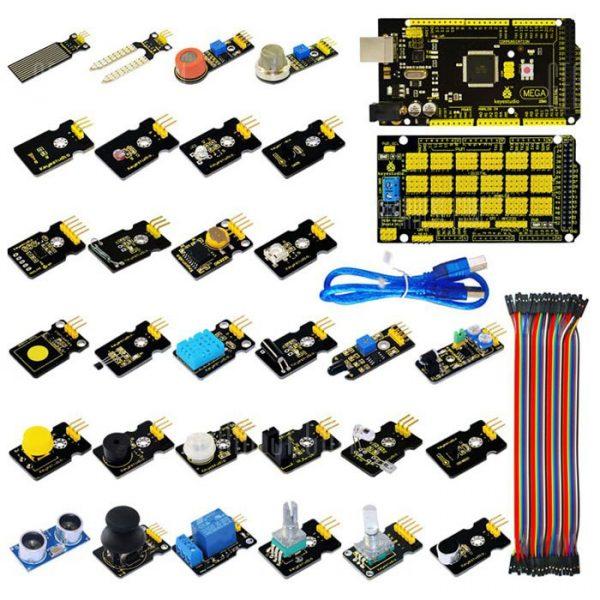 Kit de modulo sensor Keyestudio con Mega 2560 R3 Junta de Desarrollo