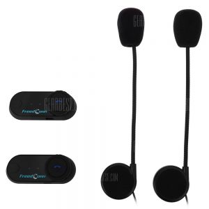 2pcs 800M Waterproof Motorcycle Intercom Bluetooth