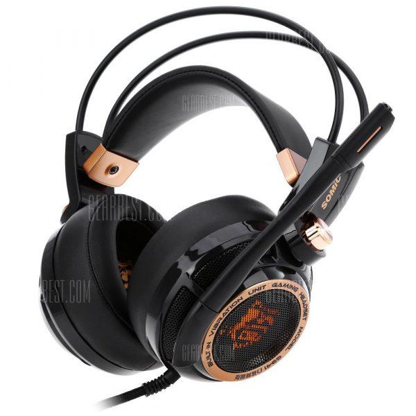 Somic G941 Reduccion activa del ruido USB Gaming Headset