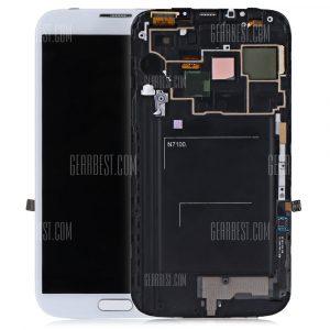 Digitalizador de pantalla LCD Bastidor para Samsung Galaxy Nota 2 N7100