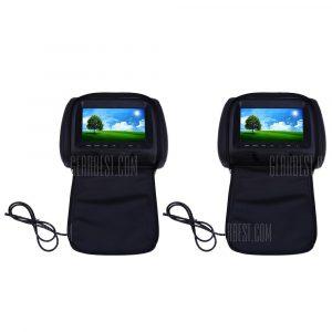 Emparejado XM779 reposacabezas del coche de 7 pulgadas de 234 x 480 TFT LCD Monitor