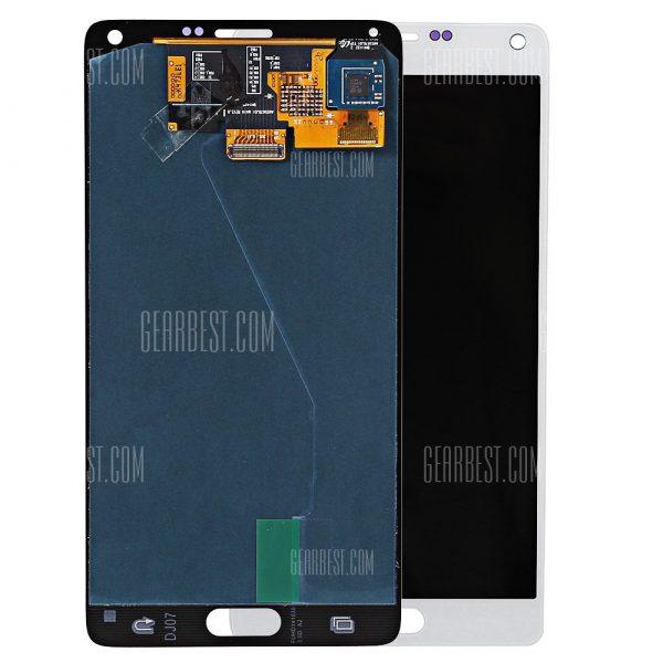 Digitalizador de pantalla LCD Bastidor para Samsung Galaxy Nota 4