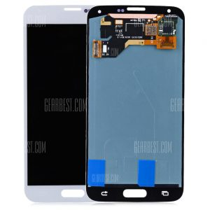 Digitalizador de pantalla LCD Bastidor para Samsung Galaxy S5 G900