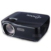 GP - 70hasta Full HD 1080p Mini proyector LCD portatil