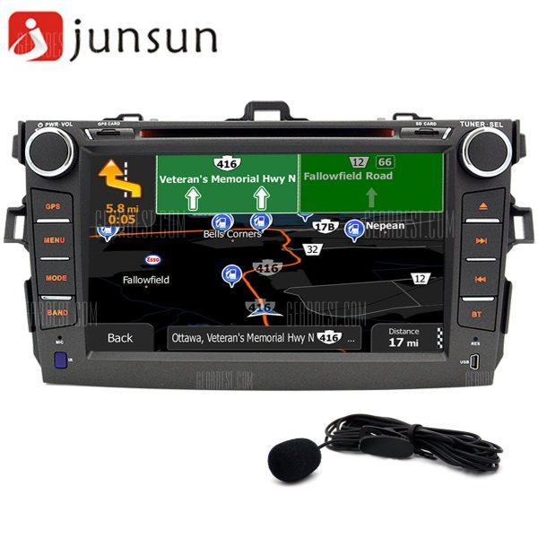 R168 - TYT Junsun - MAPA Android 4.4 coche reproductor de DVD