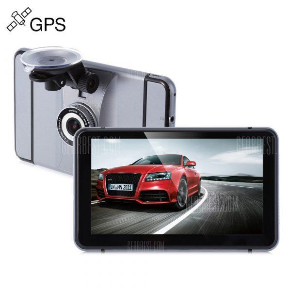 Android de 7 pulgadas Navegador GPS de coche DVR